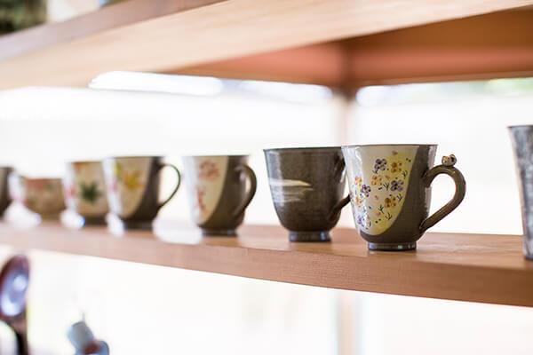 陶芸の里 炭山の陶芸品