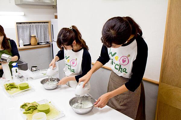 宇治茶❤大使 抹茶ーずが料理する風景