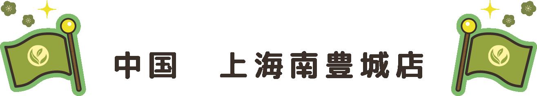 中国 上海南豊城店