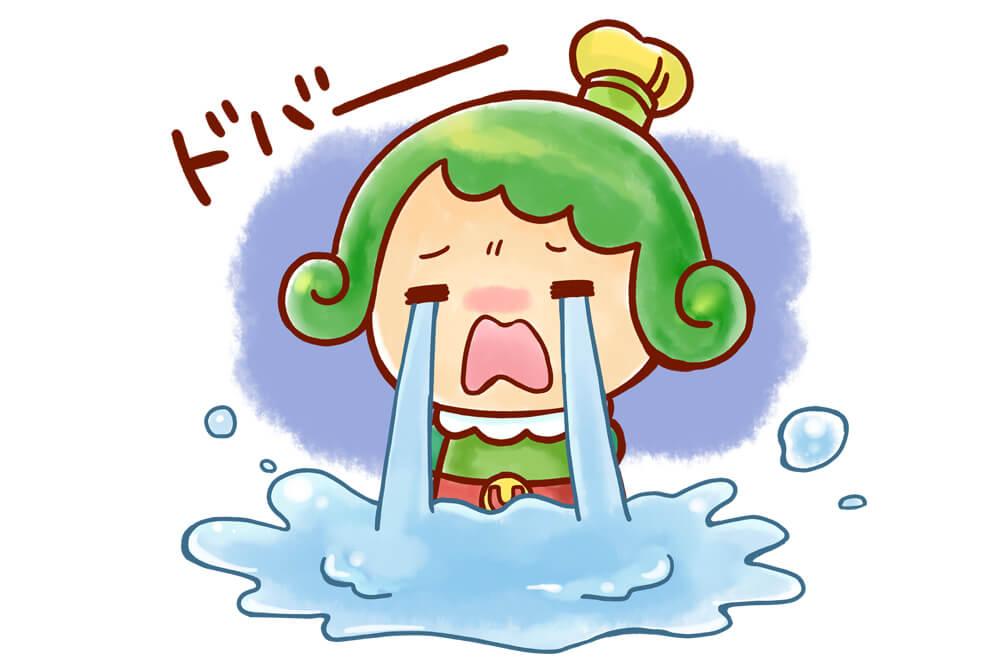 チャチャ王国のおうじちゃま新型コロナウイルス感染症の影響で泣く